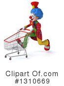 Clown Clipart #1310669 by Julos