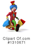 Clown Clipart #1310671 by Julos