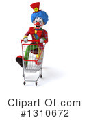 Clown Clipart #1310672 by Julos