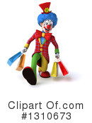 Clown Clipart #1310673 by Julos