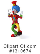 Clown Clipart #1310674 by Julos
