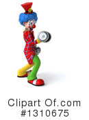 Clown Clipart #1310675 by Julos