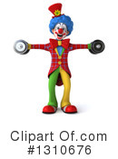 Clown Clipart #1310676 by Julos