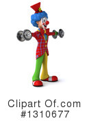 Clown Clipart #1310677 by Julos