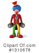 Clown Clipart #1310678 by Julos