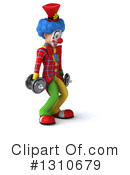 Clown Clipart #1310679 by Julos