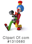 Clown Clipart #1310680 by Julos