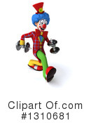 Clown Clipart #1310681 by Julos