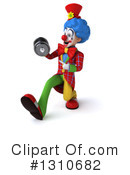 Clown Clipart #1310682 by Julos