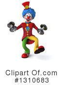 Clown Clipart #1310683 by Julos
