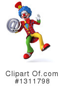 Clown Clipart #1311798 by Julos