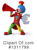 Clown Clipart #1311799 by Julos