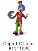 Clown Clipart #1311800 by Julos