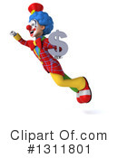 Clown Clipart #1311801 by Julos