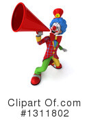 Clown Clipart #1311802 by Julos
