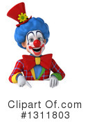 Clown Clipart #1311803 by Julos