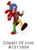 Clown Clipart #1311804 by Julos