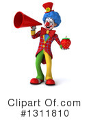 Clown Clipart #1311810 by Julos