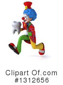 Clown Clipart #1312656 by Julos