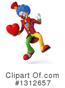 Clown Clipart #1312657 by Julos