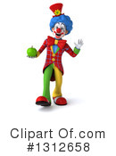 Clown Clipart #1312658 by Julos