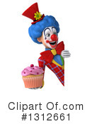 Clown Clipart #1312661 by Julos