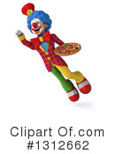 Clown Clipart #1312662 by Julos