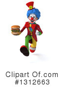 Clown Clipart #1312663 by Julos