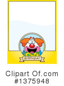 Clown Clipart #1375948 by Cory Thoman