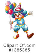 Clown Clipart #1385365 by Graphics RF