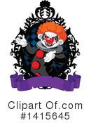 Royalty-Free (RF) Clown Clipart Illustration #1415645
