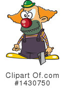 Clown Clipart #1430750 by toonaday