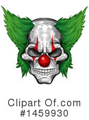 Clown Clipart #1459930 by Domenico Condello