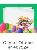 Clown Clipart #1467524 by Graphics RF