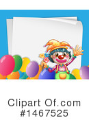 Clown Clipart #1467525 by Graphics RF
