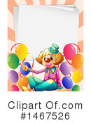 Clown Clipart #1467526 by Graphics RF
