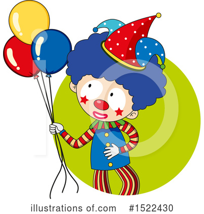 Clown Clipart #1522430 by Graphics RF