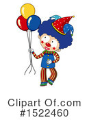 Clown Clipart #1522460 by Graphics RF