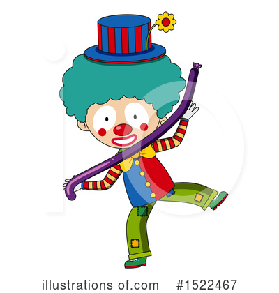 Clown Clipart #1522467 by Graphics RF