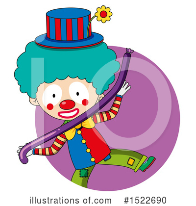 Clown Clipart #1522690 by Graphics RF