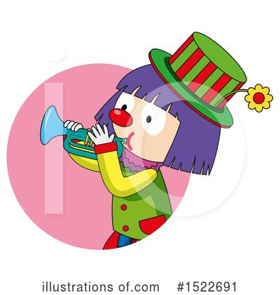 Clown Clipart #1522691 by Graphics RF