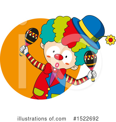 Clown Clipart #1522692 by Graphics RF