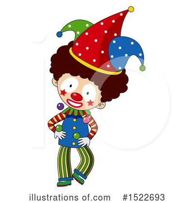 Clown Clipart #1522693 by Graphics RF