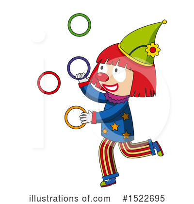 Clown Clipart #1522695 by Graphics RF