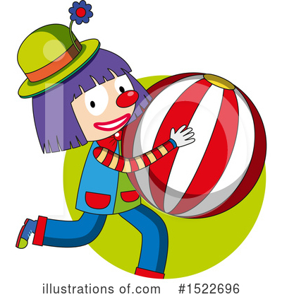 Clown Clipart #1522696 by Graphics RF
