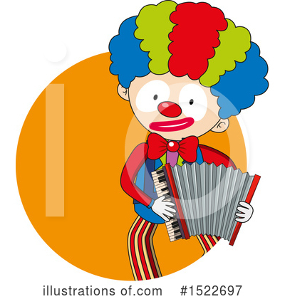 Clown Clipart #1522697 by Graphics RF
