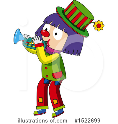 Clown Clipart #1522699 by Graphics RF