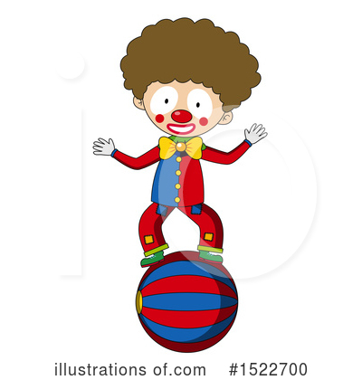 Clown Clipart #1522700 by Graphics RF