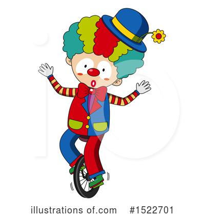 Clown Clipart #1522701 by Graphics RF