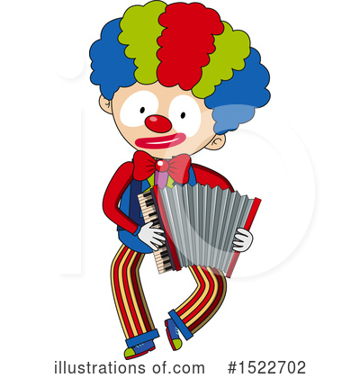 Clown Clipart #1522702 by Graphics RF